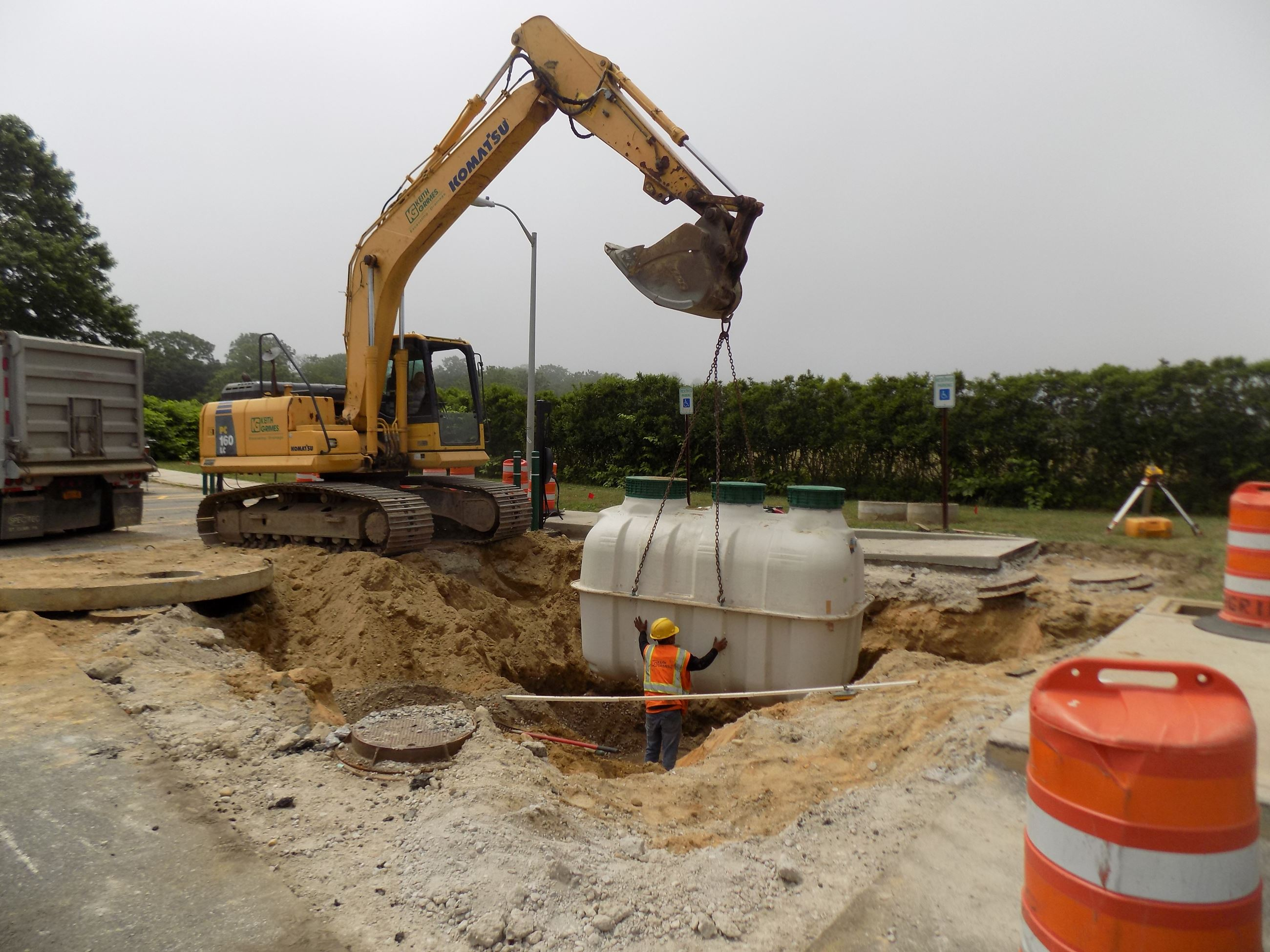 AMAG septic installation