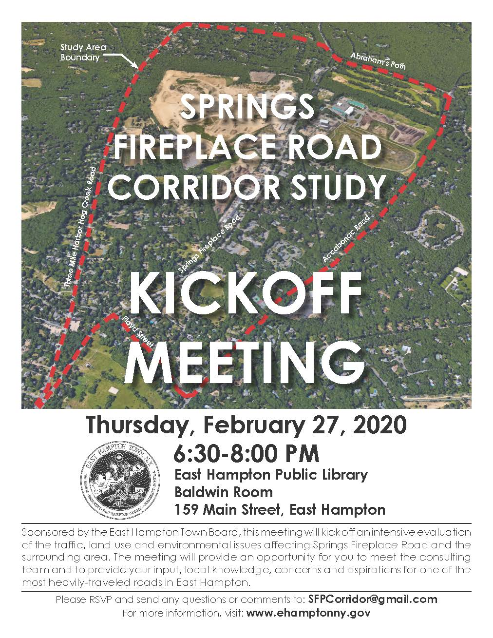 Kickoff Meeting Flyer