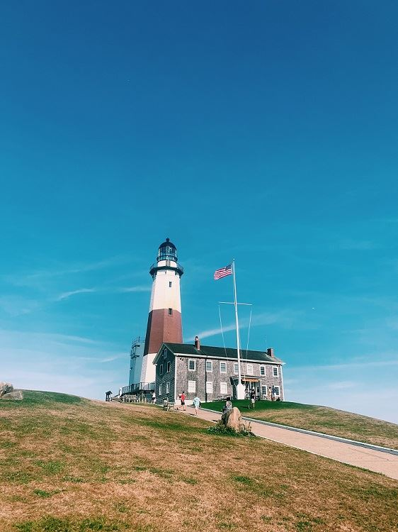 Montauk lighthouse Zoe Bank